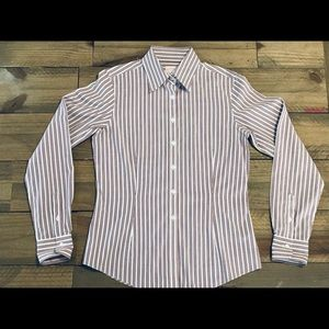 Brooks Brothers Women's Dress Shirt No Iron Sz 4